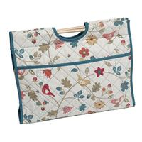 Knitting & Sewing Bag with Wooden Handles - Bramble