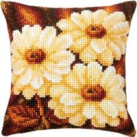 Anemones Cross Stitch Cushion Front kit 1200/965