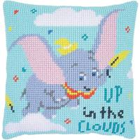 Up In The Clouds Disney Chunky Cross Stitch Cushion Front kit