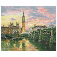 MAIA Collection Anchor Counted Cross Stitch Kit - London - 35x45